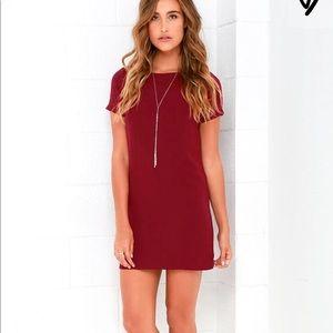 Lulu*s Shift & Shout Dress